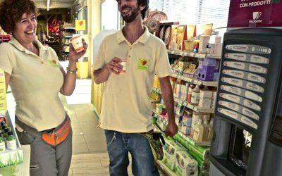 """Valmatic e """"Lo Pan Ner"""" propongono il primo distributore di bevande biologiche in Valle d'Aosta"""